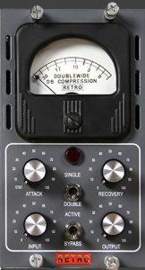 Retro Instruments Doublewide compressor