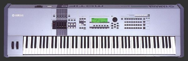Yamaha Motif 8 Workstation