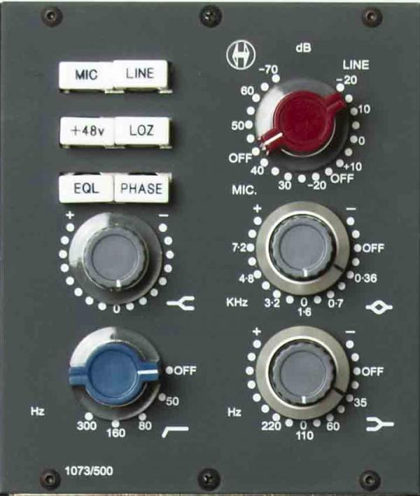 Heritage Audio 1073/500