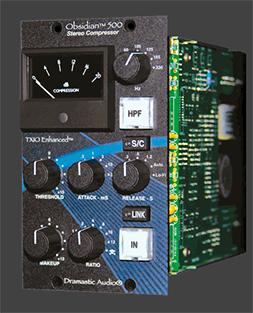 Dramastic Audio Obsidian 500 Stereo Compressor