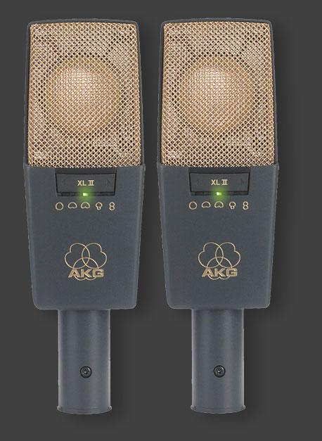 AKG C 414 B-XLIIs (stereo pair)